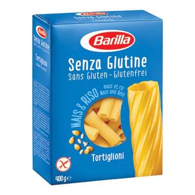 BARILLA GR.400 TORTIGLIONI  SENZA GLUTINE