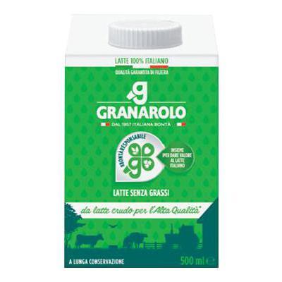GRANAROLO LATTE SCREMATO ML.500