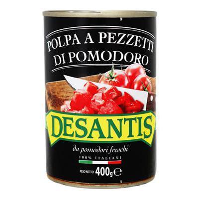 DESANTIS POLPA DI POMODORO A PEZZI GR.400
