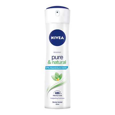 NIVEA DEO SPRAY PURE & NATURALML.150