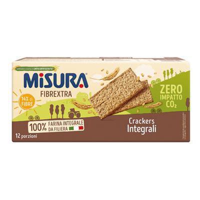 MISURA CRACKERS INTEGRALI FIBRE EXTRA GR.400