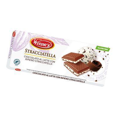 WITOR'S TAVOLETTA RIPIENA STRACCIATELLA GR.100    S/GLUTINE