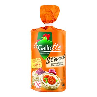 GALLO GALLETTE 3 CEREALI GR.100