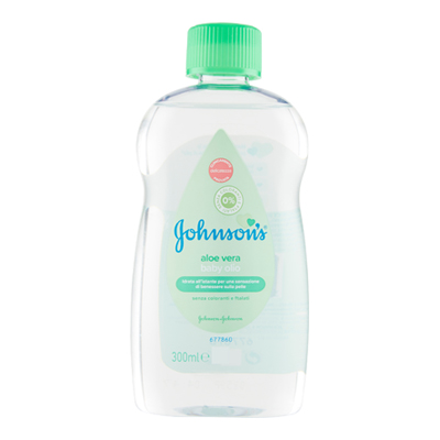 JOHNSON BABY OLIO ALOE ML.300