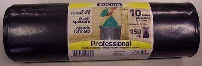 SACME SACCO 90X140 X10 NER.C/MMAXI RESISTENZA