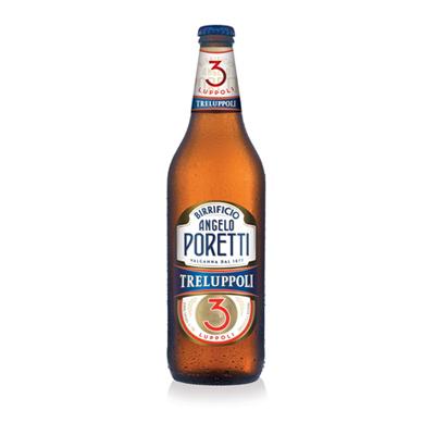 BIRRA PORETTI 3 LUPPOLI CL.66VOL.4.8%
