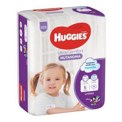 HUGGIES PANNOLINO MUTANDINA TG.5 X14 12-17 KG