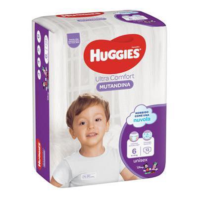 HUGGIES PANNOLINO MUTANDINA TG.6 X13 15-25 KG