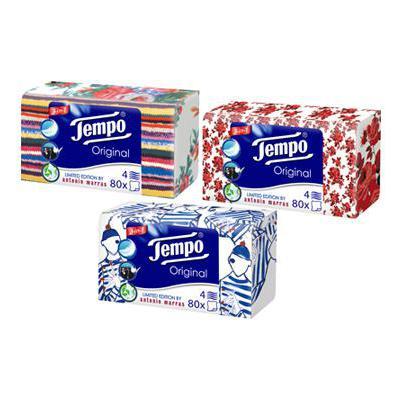 TEMPO FAZZOLETTI BOX X 80