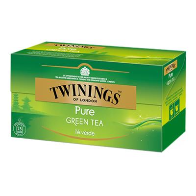 TWINING TEA PURE GREEN  X25 FF.