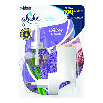 GLADE ELECTRIC BASE LAVANDA+RICARICA ML.20