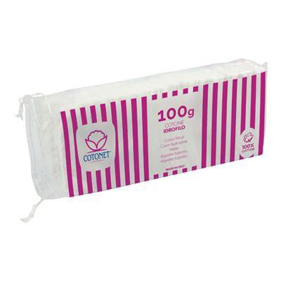 COTONET COTONE IDROFILO GR.100