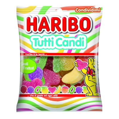 HARIBO BST TUTTI CANDI GR.175COD.15036