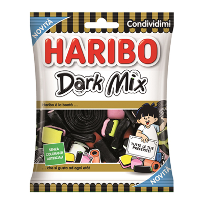 HARIBO BUSTA DARK MIX GR.175