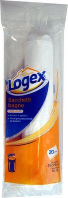 LOGEX 20 SACCHETTI BAGNO CM.35X50 LT.10