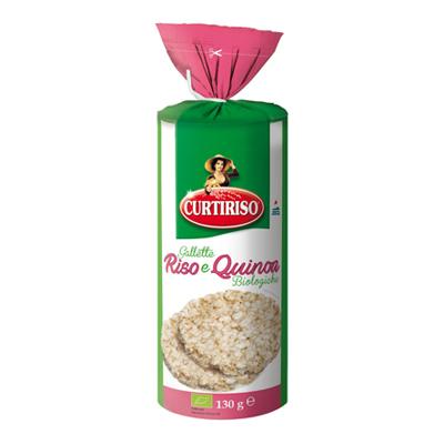 CURTI GALLETTE RISO QUINOA GR.130