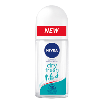 NIVEA DEO ML.50 ROLL ON F/M DRY FRESH