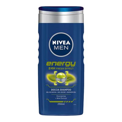 NIVEA DOCCIA SCHIUMA ENERGY FOR MEN ML.250