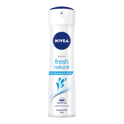 NIVEA DEO SPRAY ML.150 FRESH NATURAL