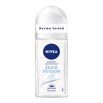 NIVEA ROLL ON ML50 PURE INVISIBLE