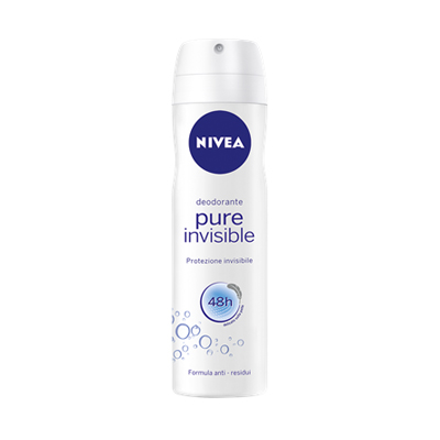 NIVEA DEO SPRAY ML.150 PURE INVISIBLE