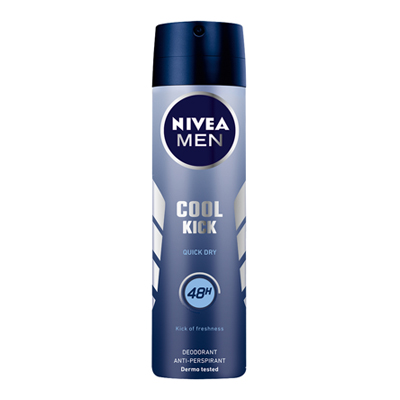 NIVEA DEO SPRAY ML.150 COOL KICK SPRAY FOR MAN