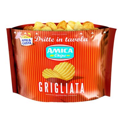 AMICA CHIPS DRITTE IN TAVOLA GR.135 GRIGLIATA