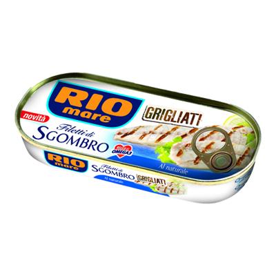 RIO MARE SGOMBRO GRIGLIATO ALNATURALE GR.120
