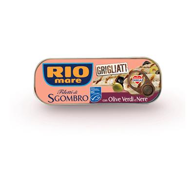 RIO MARE SGOMBRO GRIGLIATI CONOLIVE GR.120