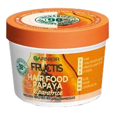 FRUCTIS MASCHERA HAIR FOOD ML.390  PAPAYA         RIPARATRIC