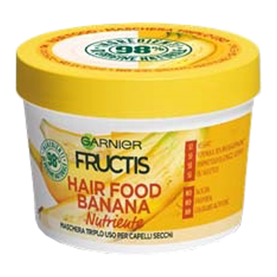 FRUCTIS MASCHERA HAIR FOOD ML.390 BANANA