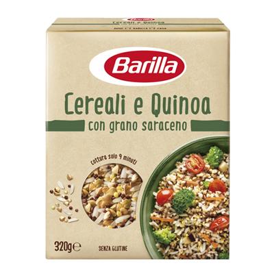 BARILLA MIX CEREALI & QUINOA GR.320