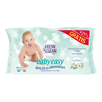FRESH & CLEAN SALVIETTE BABY EASY 60PZ