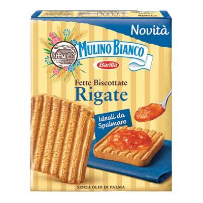 MULINO BIANCO FETTE RIGATE GR.315 X 32