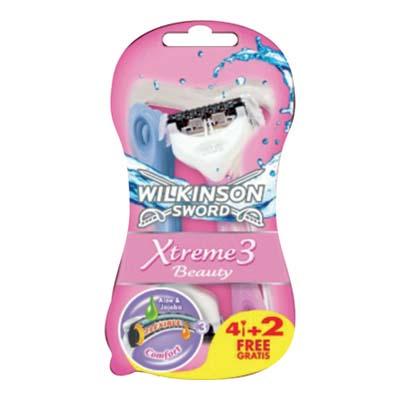 WILKINSON XTREME 3 BEAUTY PZ.4+2  EXPO 100PZ
