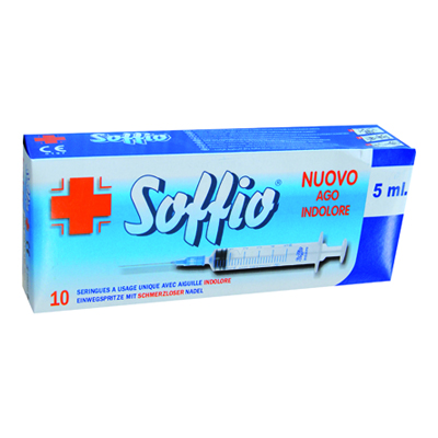 SOFFIO SIRINGA ML.5 X 10 PZ.