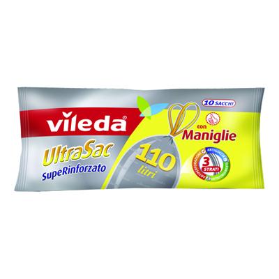 VILEDA ULTRASAC LT.110 PZ.10 RINFORZATO CON MANIGLIE