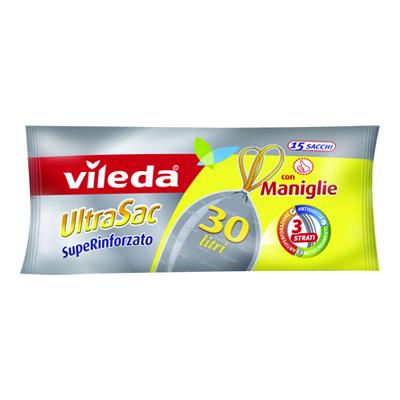 VILEDA ULTRASAC LT.30 PZ.15 RINFORZATO CON MANIGLIE
