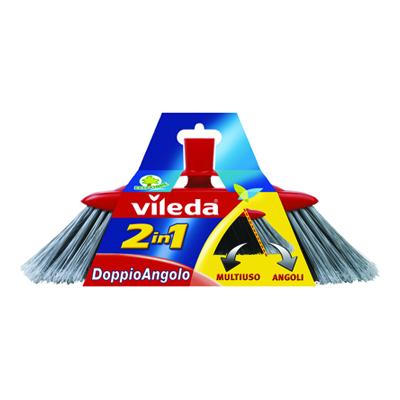 VILEDA SCOPA 2 IN 1 DOPPIO ANGOLO