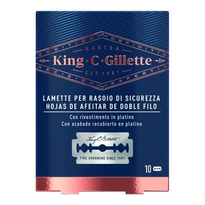 KING C GILLETTE LAME DI SICUREZZA X 10PZ