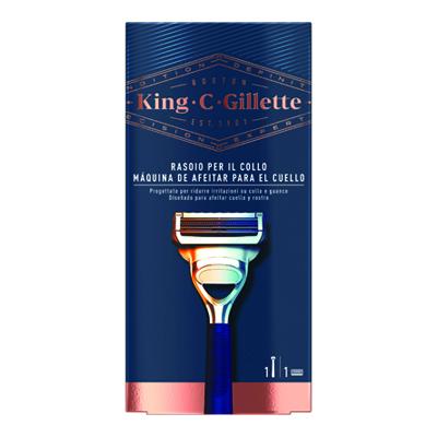 KING C GILLETTE RASOIO PER COLLO 1UP X6PZ