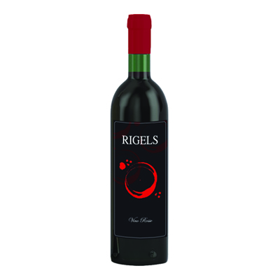 RIGELS VINO ROSSO CL.75 11�