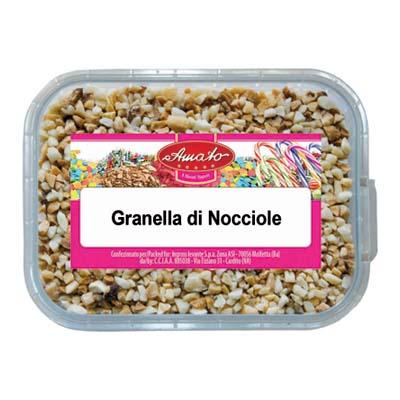 AMATO GRANELLA NOCCIOLA GR.60VASCHETTA