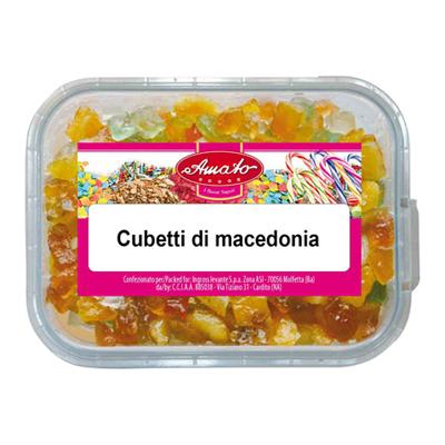 AMATO MACEDONIA CUBETTI GR.60VASCHETTA