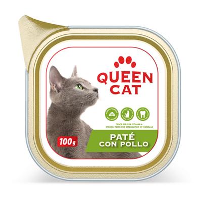QUEEN CAT PATE'POLLO VASCHETTAGR.100