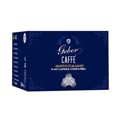 GEBER CAPSULE CAFFE'X40 PZ COMPATIBILI NESPRESSO