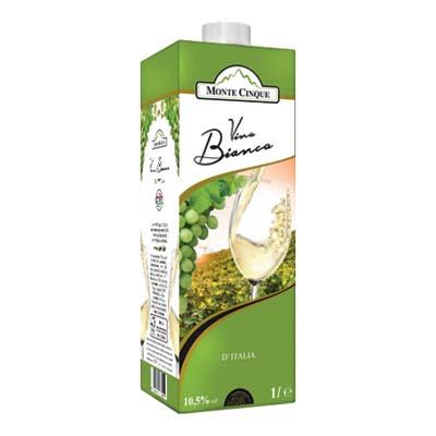 MONTECINQUE VINO BIANCO BRIK LT.1 VOL.10,5�