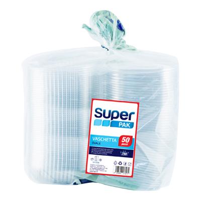 SUPERPAK VASCHETTA OVALE X50 1000 CC