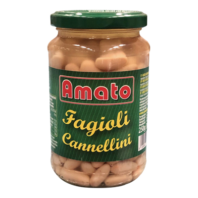 AMATO FAGIOLI CANNELLINI VASOVETRO GR.360