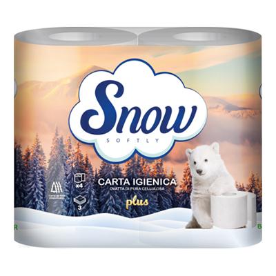 SNOW CARTA IGIENICA 3 VELI X4ROTOLI PLUS GR380